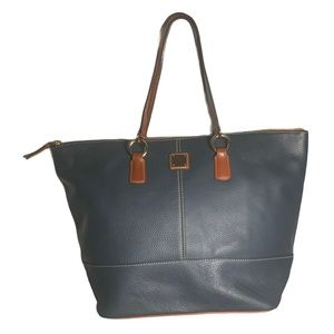 Dooney & Bourke navy blue tote